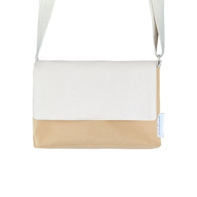 soft square mini bag (butter yellow)