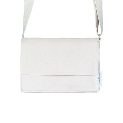 soft square mini bag (natural)