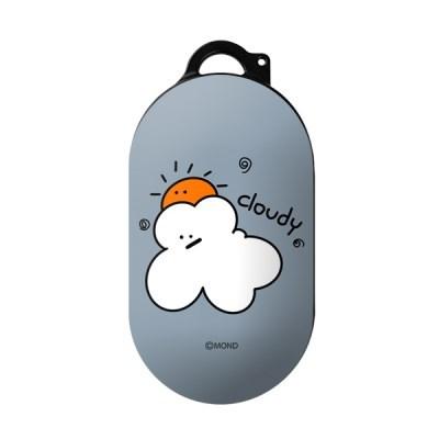 몬드몬드 Cloudy 갤럭시 버즈 플러스 케이스/하드 커버