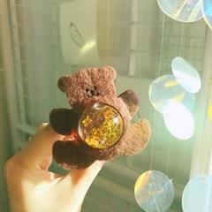 곰돌이 워터볼 스마트톡 젤리폰케이스