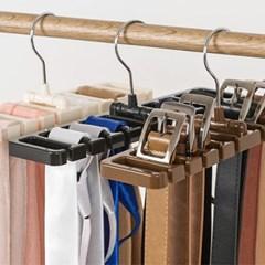 다용도 벨트 넥타이 걸이 1개(색상랜덤)