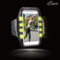 오젬 아이폰12 미니 LED 스마트폰 스포츠 암밴드
