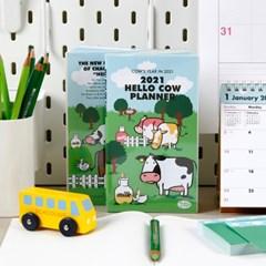 (2021 날짜형) 2021 Hello Cow Planner