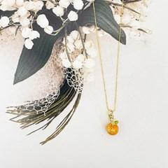 ollia 상큼 오렌지 목걸이