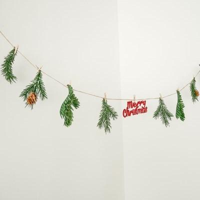 크리스마스 솔나무 가랜드