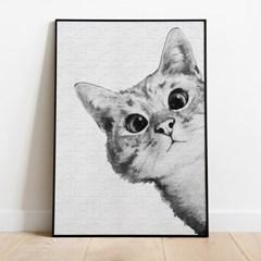 명화그리기 궁금한 고양이 피포페인팅 유화그림