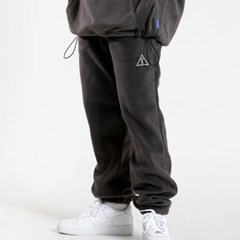 25P UNISEX FLEECE JOGGER PANTS_charcoal [플리스 조거
