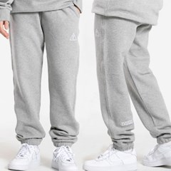[양기모] 25P UNISEX LOGO POINT SWEAT JOGGER PANTS_gr