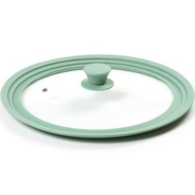실리콘 멀티 후라이팬/냄비 뚜껑 민트28~32cm_(3748905)