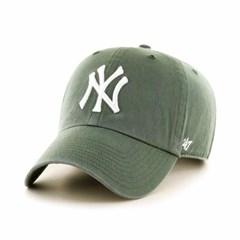 47브랜드 MLB모자 양키즈 빈티지그린 빅로고