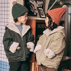 츄) 웜밍크 아동 안감점퍼-주니어까지
