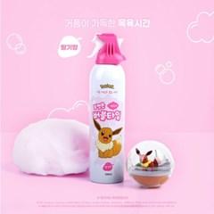 포켓몬 버블타임 딸기향 200ml(거품목욕제)