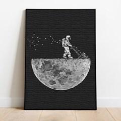 명화그리기 달과 우주 피포페인팅 유화그림 DIY