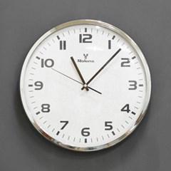 (kyos050)CR330 크롬테펄 벽시계 (저소음)(지름 32cm)_(1279592)