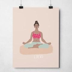 인테리어 액자 요가 로터스 Yoga Lotus_(2545581)