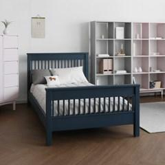 [코코엣지] A형 침대 : 블랑네이비 Q
