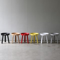 디센 카르보 어라운드 원목 원형 테이블 M 5colors_(11054685)