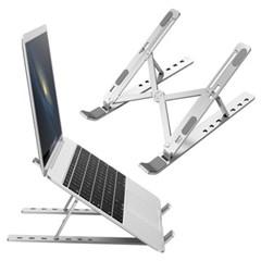OMT 휴대용 접이식 7단 각도조절 알루미늄 노트북 거치대