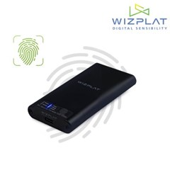 위즈플랫 지문인식 포터블 SSD S2Bio / 256GB