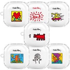 스키누 x Keith Haring 갤럭시 버즈 라이브+키링