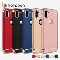 하푼 아이폰6 6S 슬림핏 골드라인 풀커버 케이스