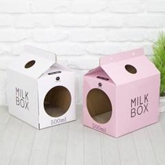 한발뚝딱 하우스 고양이스크래쳐 MILK BOX_(1247533)