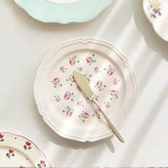 코벤트가든 빈티지 플레이트 로즈 접시(소) 20cm 1P