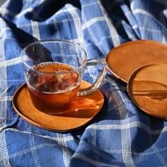 롬우드 마호 원목 컵받침_(1740757)
