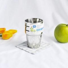 로보트 스텐 이중컵 (160ml) 3P