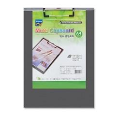 [알파] 멀티 클립보드(PVC/합지) 세로 A4(50입/박스)_(12732904)