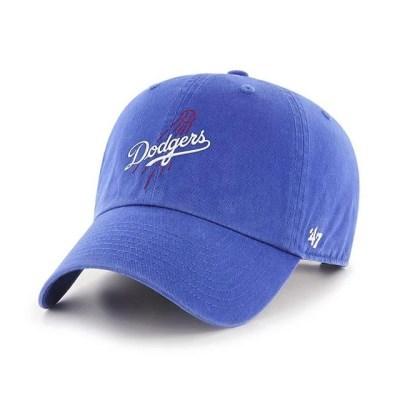 47브랜드 MLB모자 다저스 로얄 이니셜볼