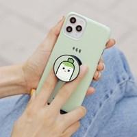 갤럭시A90 5G 귀염뽀짝 시즌9 스마트톡 하드 케이스