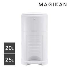 기저귀/가정용 무소음 휴지통 20L/25L (옵셋/올화이트)