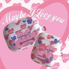 [뮤즈무드] maybe i love you airpods case (하드에어팟케이스)