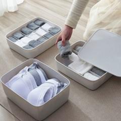 플라스틱 속옷정리함 5종 양말 수납함 서랍 칸막이 보관함