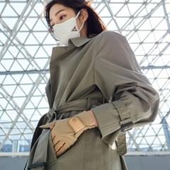 에이퓨리 코로나 바이러스 항균장갑 여성 골드