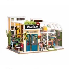TD03w Flower Shop 행운의 꽃가게 D.I.Y 미니어처 하우스
