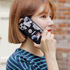 하푼 아이폰7 8플러스 석고상 카드도어 범퍼케이스