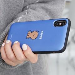 아이폰6 6S 귀염뽀짝 캐릭터 도어 카드 범퍼 케이스