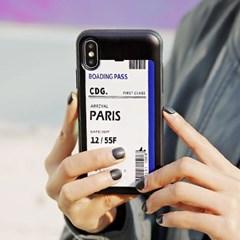 아이폰 6/6S 에어플레인 티켓 카드 범퍼 케이스