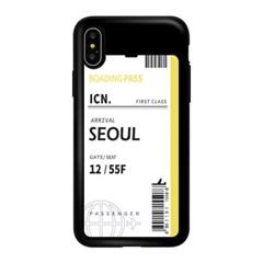 아이폰 6 6S+  에어플레인 티켓 카드 범퍼 케이스