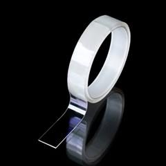 초강력 방수 흔적없는 다용도 정리 투명 실리콘 양면테_(1380407)