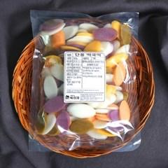유기농백미로 만든 오색떡국떡(냉동) 500g 싸리재떡방
