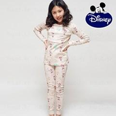 디즈니 아동 내의 실내복 (여아 미니피크닉 베이지)