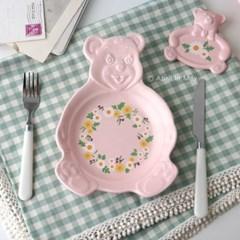 My Bear-마이베어 접시(베이직&패턴)