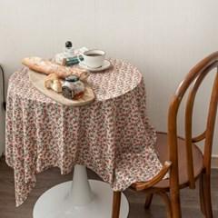 온더파리지앵에밀리 식탁보 테이블보 120x120cm 테이블러너