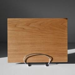 롬우드 원목 모던 테이블매트 트레이 40cm
