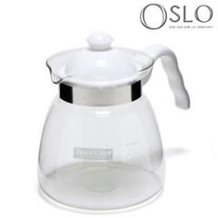 오슬로 티포터 내열유리주전자 차끓이는투명주전자 티메이커