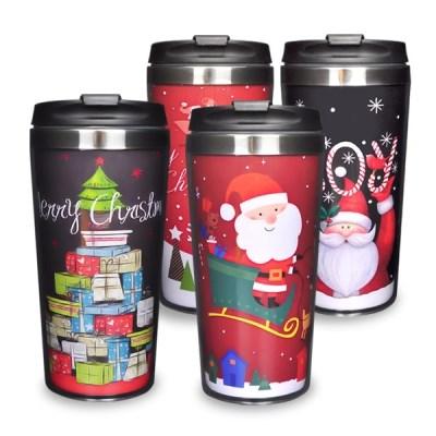 크리스마스 스텐 텀블러 450ml /선물/크리스마스선물