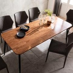 루비 참죽 원목 6인용 식탁 1800(의자미포함)
